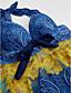זול 2017ביקיני ובגדי ים-נשים בוהו הלטר טנקיני - גיאומטרי, הדפס ילד ברגל