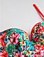 preiswerte Bikinis und Bademode 2017-Damen Einteiler Blumen Halter