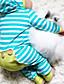 tanie Zestawy ubrań dla niemowląt-Dziecko Dla obu płci Prążki Długi rękaw Komplet odzieży