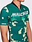abordables Ropa de Triatlón-Malciklo Hombre Manga Corta Traje Tri - Verde camuflaje / Británico Bicicleta Secado rápido, Transpirable Coolmax® / Licra