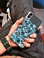 hesapli iPhone Kılıfları-Pouzdro Uyumluluk Apple iPhone XS / iPhone XR / iPhone XS Max Toz Geçirmez / Ayna / Temalı Arka Kapak Çizgiler / Dalgalar TPU