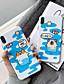 hesapli iPhone Kılıfları-Pouzdro Uyumluluk Apple iPhone XS / iPhone XR / iPhone XS Max Toz Geçirmez / IMD / Yedekleme Arka Kapak Kelime / Cümle / Hayvan / Karton Silika Jel