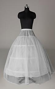 Bröllop Speciellt Tillfälle Fest / afton Underklänningar Nylon Tyll Golvlång A-linjeformad Underkjol/klänning Klassisk & Tidlös med