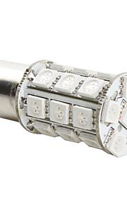 1157 5050 27-SMD Ampoule LED rouge pour la voiture (12V DC)