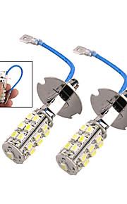SO.K 2pcs H3 Automatisch Lampen 3W 200lm 25 LED Mistlamp