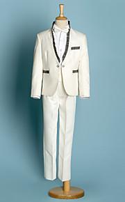 Πολυεστέρας Κοστούμι για Αγοράκι με Βέρες - 5 Κομμάτια Περιλαμβάνει Σακάκι    Πουκάμισο   Παντελόνια   f2e3a324c4b