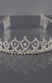 סגסוגת Tiaras ביגוד לראש with פרחוני 1pc חתונה אירוע מיוחד כיסוי ראש