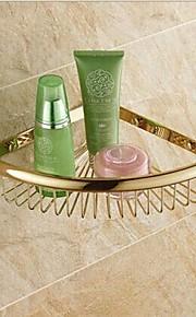 욕실 선반 고품질 앤티크 놋쇠 1개 - 호텔 목욕