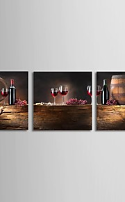 Still Life Three Panels Horizontal Print Wall Decor Home Decoration