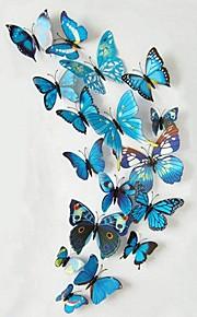 Tiere Wand-Sticker 3D Wand Sticker Dekorative Wand Sticker, Vinyl Haus Dekoration Wandtattoo Wand