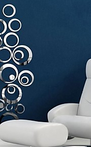 Autocollants muraux décoratifs - Miroirs Muraux Autocollants Miroir Salle de séjour Chambre à coucher Salle de bain Cuisine Salle à