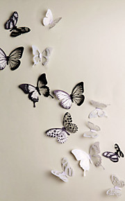 Tiere 3D Wand-Sticker 3D Wand Sticker Dekorative Wand Sticker, Vinyl Haus Dekoration Wandtattoo Wand