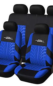 Potahy na autosedačky Kryty sedadel Šedá / Červená / Modrá Textil Běžné Pro Volvo / Volkswagen / Toyota