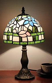 벽 빛 다운라이트 데스크 램프 110-120V 220-240V E12/E14 티파니 러스틱/ 롯지 모던/콘템포라리 전통적/ 클래식 노블티 페인팅