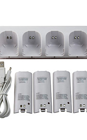 WII Audio und Video Batterien und Ladegeräte für Nintendo Wii Mini Verkabelt #