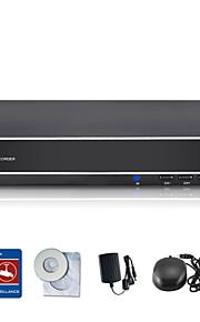 sannce® 8-kanaals 960H dvr multi-mode-ingang w / ecloud hdmi 1080p / vga / BNC-uitgang-real time op afstand bekijken, qr code scan p2p