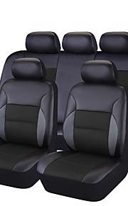 CARPASS Potahy na autosedačky Kryty sedadel Světlá růžová / Béžová / černá + černá PVC Business Pro Evrensel