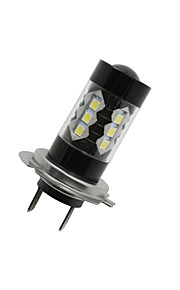 SO.K 2pcs H7 Automatisch Lampen 8W Krachtige LED 1300lm 16 LED Mistlamp