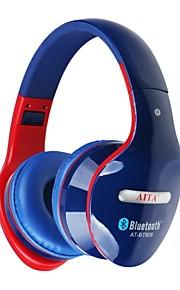 AT-BT808 Op het oor Draadloos Hoofdtelefoons Muovi Mobiele telefoon koptelefoon Mini Met volumeregeling met microfoon koptelefoon