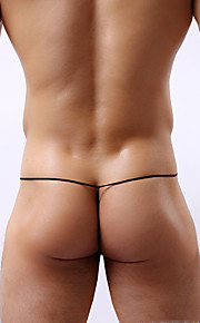 Hombre G-string Underwear Bloques Baja cintura
