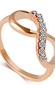 Damen Bandring - Prinzessin Klassisch Modisch Golden Ring Für Hochzeit Party Party / Abend Alltag Normal