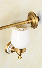 Toilet Brushes & Holders Neoclassical Brass 1 pc - Hotel bath