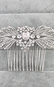 Křišťál Štras Vlasy Hřebeny 1 Svatební Přílba