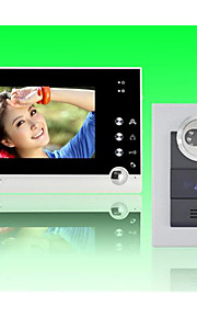 actop 7 pollici a colori ha fissato il video citofono per villasupport da 1 a 2 monitor di zy-316.210