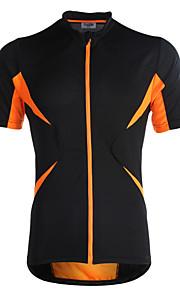 Jaggad Homme / Femme Manches Courtes Maillot de Cyclisme Vélo Maillot, Séchage rapide, Respirable Polyester