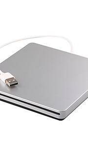 Portable USB 2.0 External DVD RW Drive Burner Writer recorder For macbook Laptop Notebook