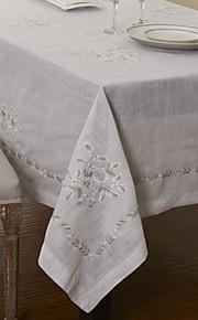 Puuvillasekoite Mini Table Cloths Patterned Ekologinen Pöytäkoristeet