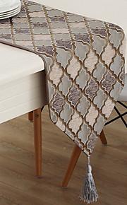 Nykyaikainen Puuvillasekoite Table Cloths Tulostus Kuvio Pöytäkoristeet
