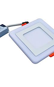 JIAWEN 9 W 45 LEDs Διακοσμητικό Φωτιστικό Πάνελ Ψυχρό Λευκό Μπλε AC85-265