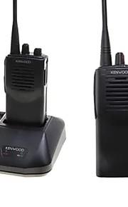 Walkie-talkie Håndholdt Advarsel Om Lavt Batteri Programmerbar med PC software Stemmekommando Kryptering Høj/lavstrømsskifter CTCSS/CDCSS