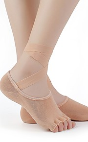 4 Pairs Women's Socks Solid Sports Cotton EU36-EU42