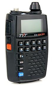 TYT Walkie-talkie Håndholdt Advarsel Om Lavt Batteri Programmerbar med PC software VOX Kryptering Dual-band Dobbelt Display Dobbelt