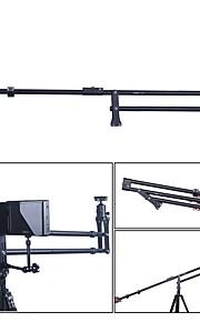andoer vs-200 slr kameraer håndvåben bærbare teleskopiske foldning aluminium vippearm