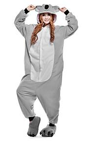 어른' 올인원 캐릭터 파자마 코알라 동물 점프수트 파자마 폴라 플리스 그레이 코스프레 에 대한 남자와 여자 동물 잠옷 만화 페스티발 / 홀리데이 의상