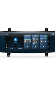 YI YI 1280 x 480 140 Gradi Automobile DVR 6,95 pollici Schermo capacitivo Dash CamforUniversali GPS Visione notturna Modalità parcheggio