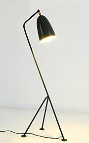 Metallisch Künstlerisch Einfach Retro / Vintage Modern/Zeitgenössisch Ministil Stehleuchte Für Metall 110-120V 220-240V Weiß Schwarz