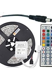 ZDM® 300 светодиоды 5M String Light 1 пульт дистанционного управления 44Keys RGB Можно резать DC 12V