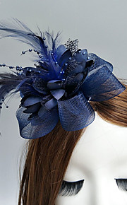 Peří   Síť Fascinátory   Květiny   Klobouky s Peří   kožešiny   Květiny 1ks  Svatební f3082d81ba