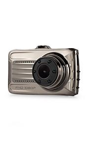 3 pollici auto dvrtft lcd hd 1080 p ruotato di 170 gradi ultra grandangolare doppio obiettivo dash fotocamera veicolo videoregistratore