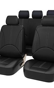 Sædeovertræk til din bil Sædebetræk Sort Beige Grå PU Læder Forretning for Universel Universal