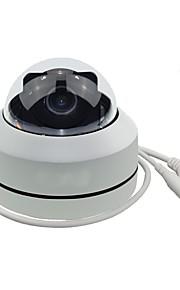 hd 1080p ptz outdoor poe beveiliging ip dome camera met 3x optische zoom pan / tilt / 3x gemotoriseerde zoom dome-stijl voor celling installatie
