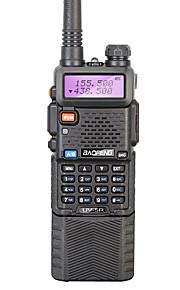 BAOFENG UV-5R Walkie-talkie Håndholdt 128 3800mAh 5W Walkie talkie Tovejs radio