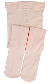 1 Pair Women's Socks Solid Colored Leg Shaping Spandex EU36-EU42