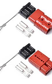 2 ks červená 175 amp konektorová zástrčka 175a přívěs s dvojitým akumulátorem baterie s rychlospojkou pro karavan 12v 24v 175a