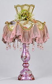 Rustico / campestre Decorativo Lampada da tavolo Per Metallo Nero Viola