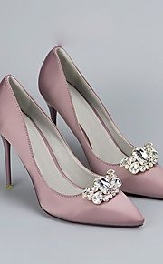 2pcs Rhinestones Decorative Accent Women's All Seasons Wedding Vacation Gold